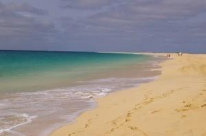 Strand på Kap Verde