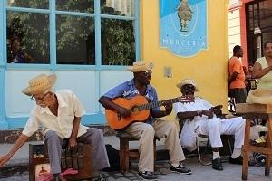 Musiker på Kuba
